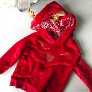 Reindeer sweatshirt 4T